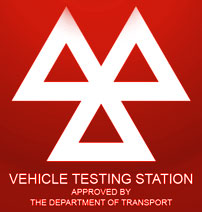MOT - Vehicle Testing Station - Approved by the Department of Transport